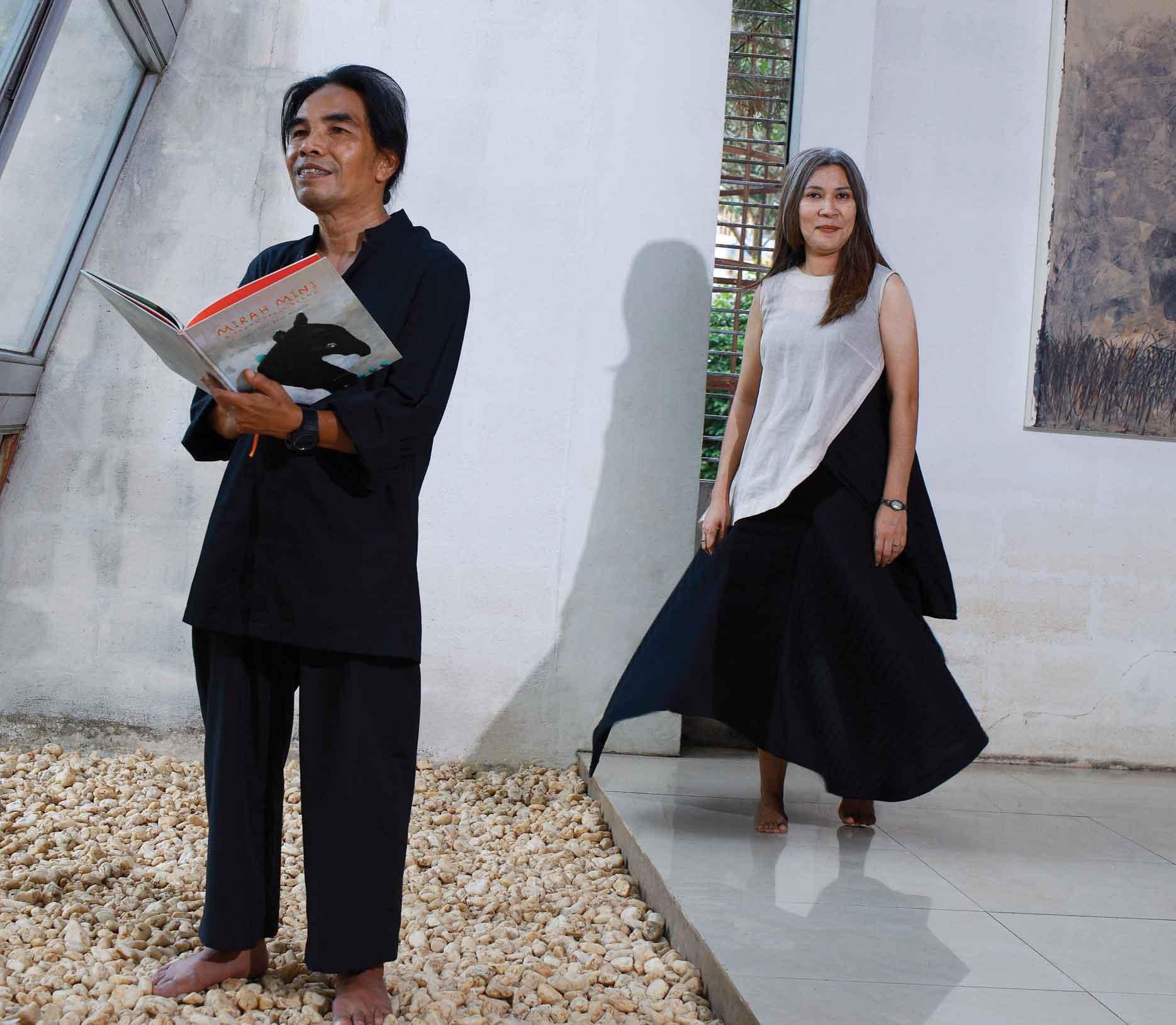 Hanafi & Nukila Amal: Cerita Amal dalam Seni