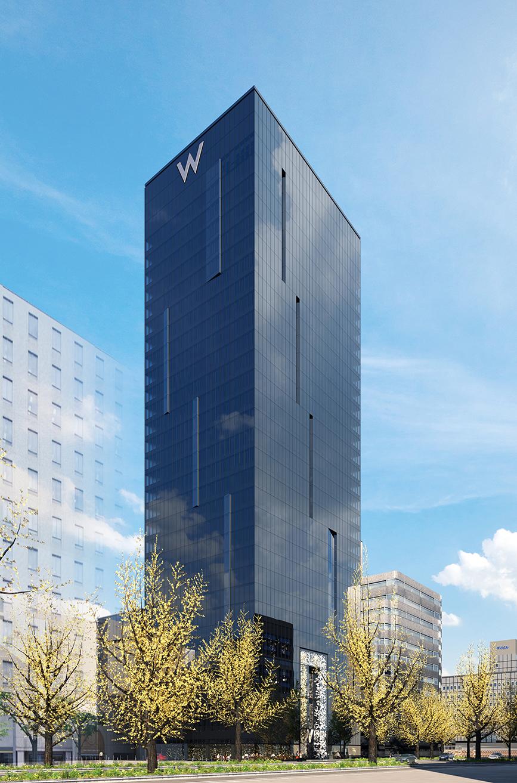 W Hotel Mempersiapkan Peluncuran Pertamanya di Osaka Pada 2021