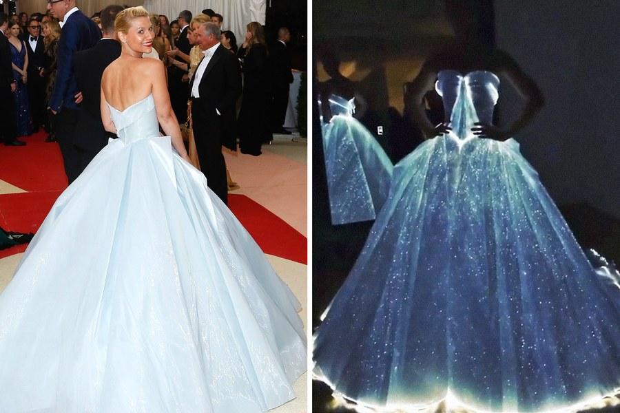 Claire Danes Tampil Menakjubkan Bak Cinderella di Met Gala 2016