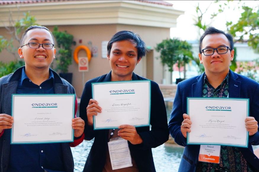 Tiga Anak Bangsa Raih Penghargaan Endeavor Entrepreneur