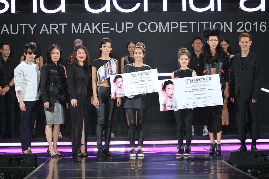 Shu Uemura Menggelar Beauty Art Make-up Competition 2016