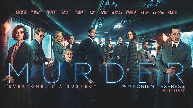 "Film ""Murder on the Orient Express"" Merilis Trailer Keduanya"