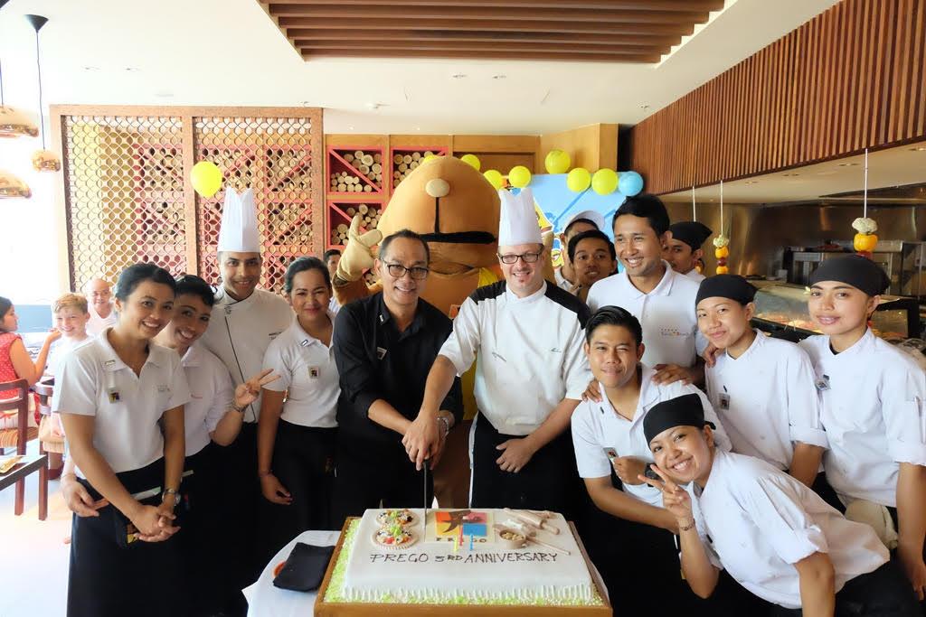 Serunya Perayaan Ulang Tahun Resto Prego, Bali