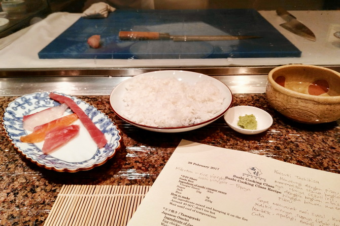 Tip Membuat Sushi ala Nishimura