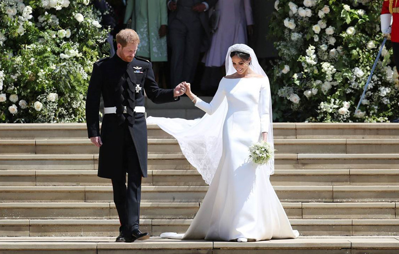 Melihat Lebih Dekat Gaun Pernikahan Meghan Markle