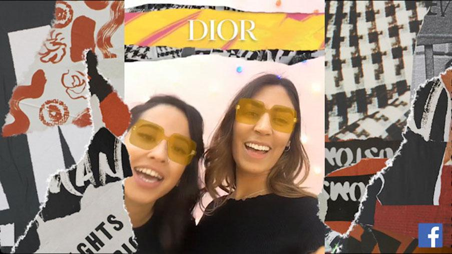 Melihat Keseruan Pengalaman Mencoba DiorColorQuake di Facebook