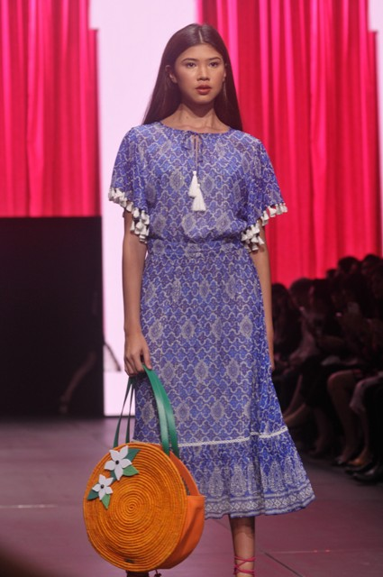 Sentuhan Maroko dalam Koleksi Busana Musim Semi/Panas Kate Spade