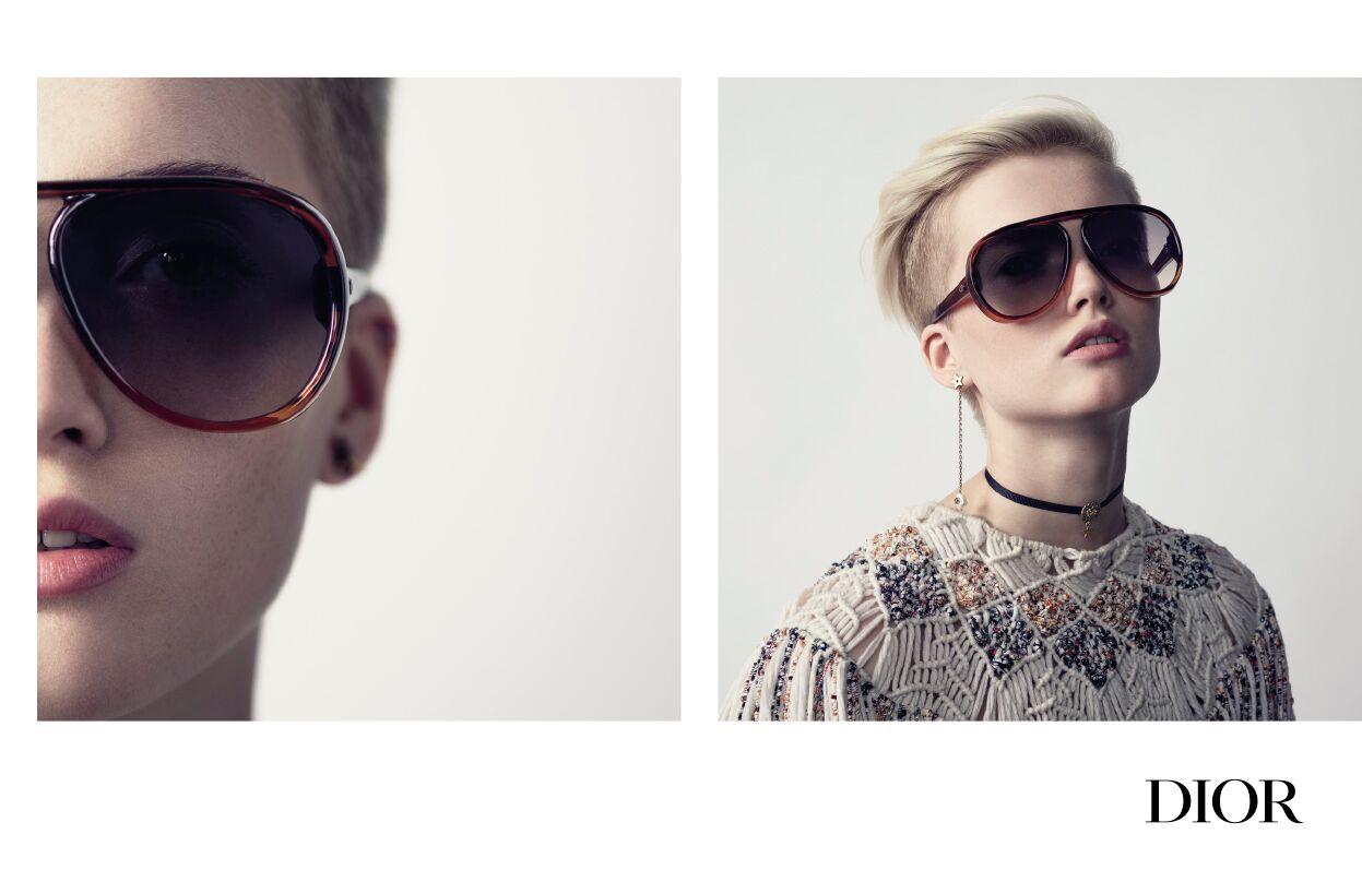 Tampil Penuh Gaya dengan Kacamata Hitam DiorLia