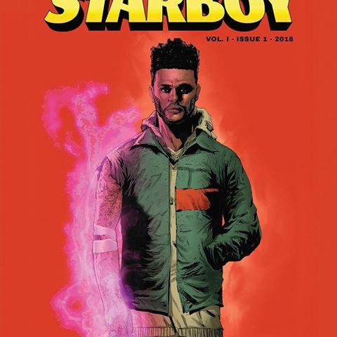 "Marvel Comics Ciptakan Buku Komik ""Starboy"" untuk The Weeknd"