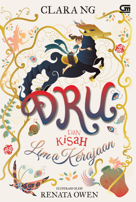 """Karya Sastra Anak """"Dru dan Kisah Lima Kerajaan"""" Resmi Diluncurkan"""