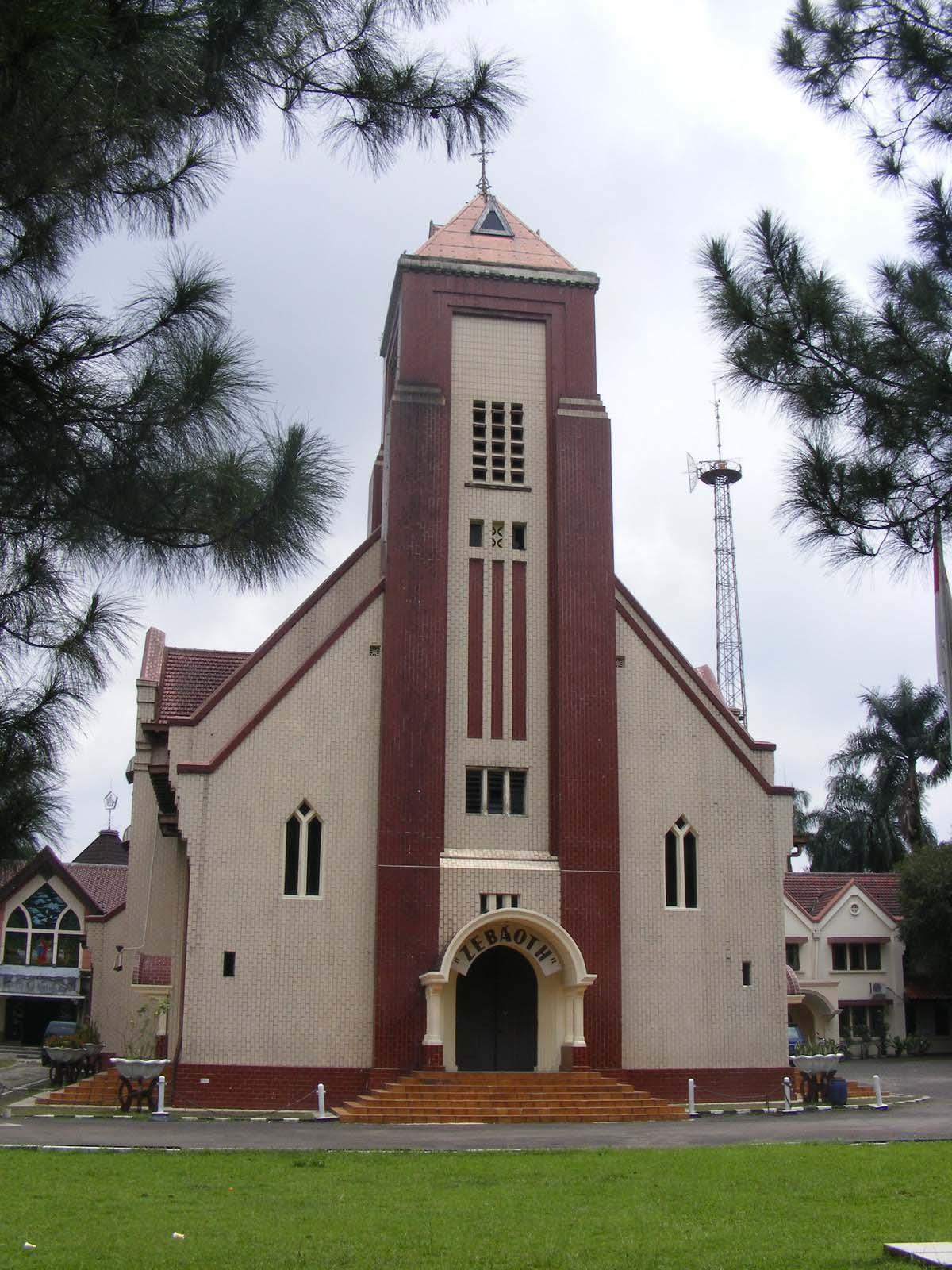 Mengenal Sejarah Gereja Zebaoth alias Gereja Ayam Bogor