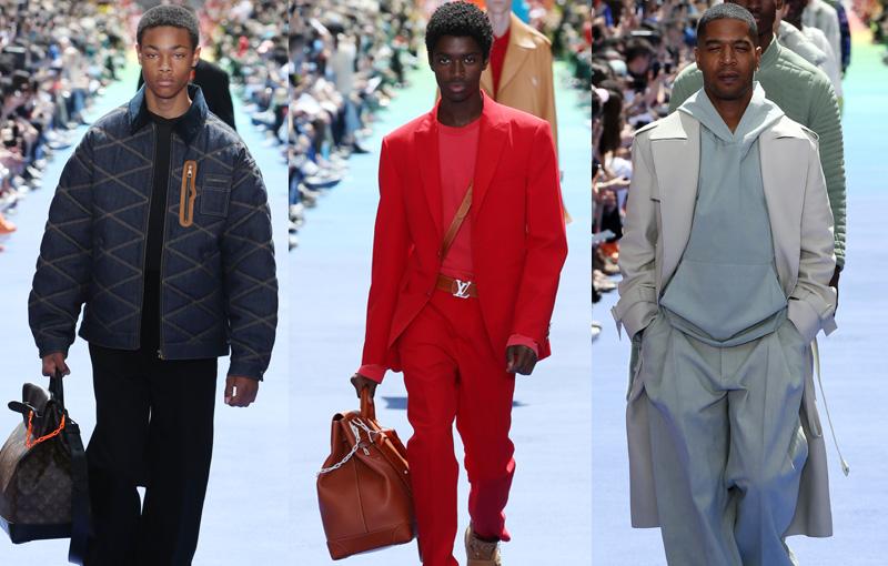Debut Koleksi Virgil Abloh untuk Louis Vuitton