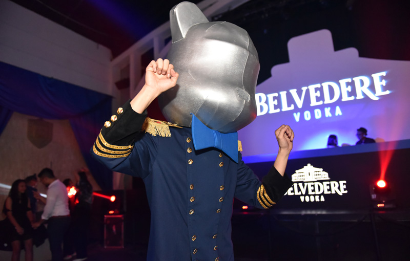 Belvedere Light The Night, Perhelatan Penuh dengan Kemeriahan