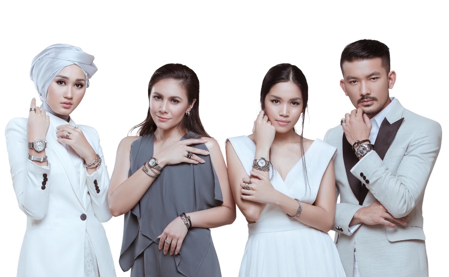Label Aksesori Charriol Mempersembahkan Kampanye Koleksi Aksesori Teranyarnya
