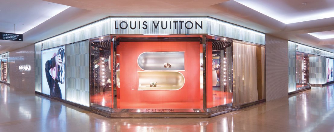 Intimasi Konsep Terbaru Butik Louis Vuitton Plaza Indonesia