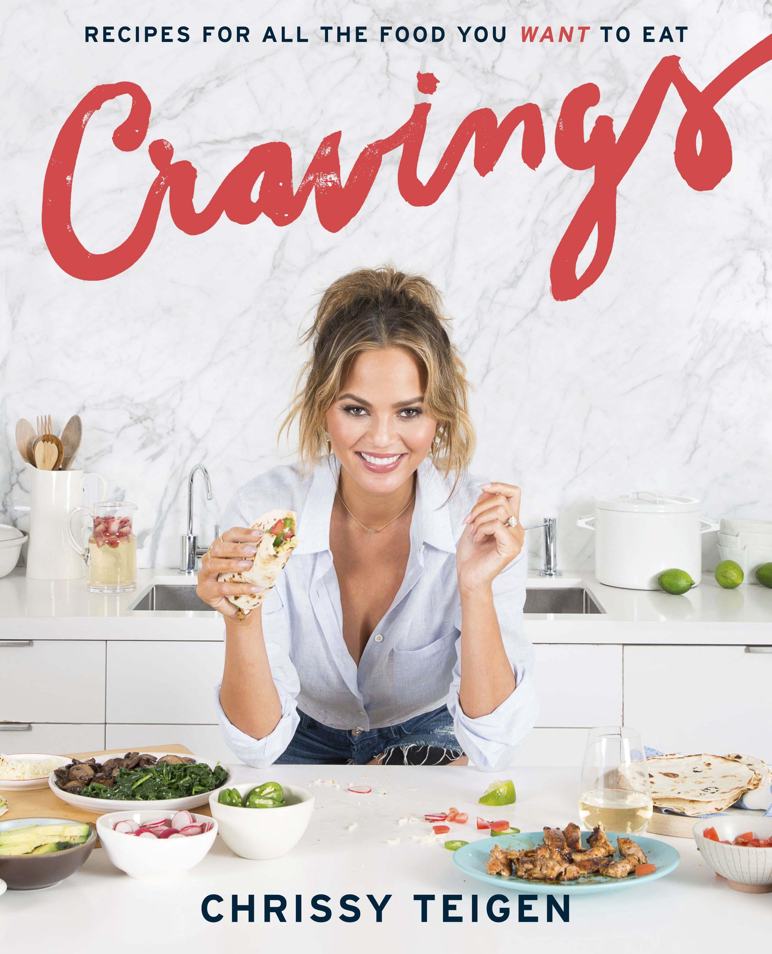 Makan Ala Model dengan Buku Resep Karya Chrissy Teigen