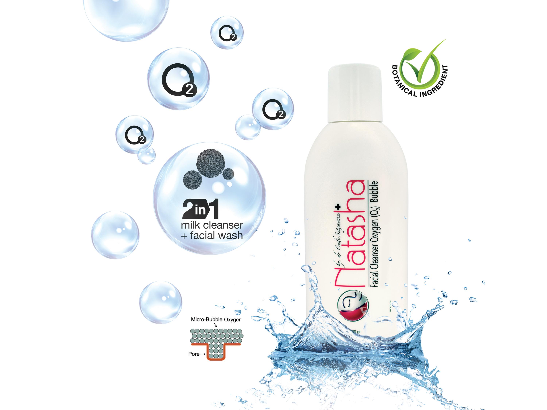 Membersihkan Wajah Tanpa Repot dengan Natasha Facial Cleanser Oxygen (O2) Bubble