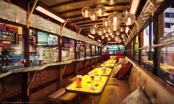 Konsep Bar Dalam Tram Oleh Hong Kong Tourism