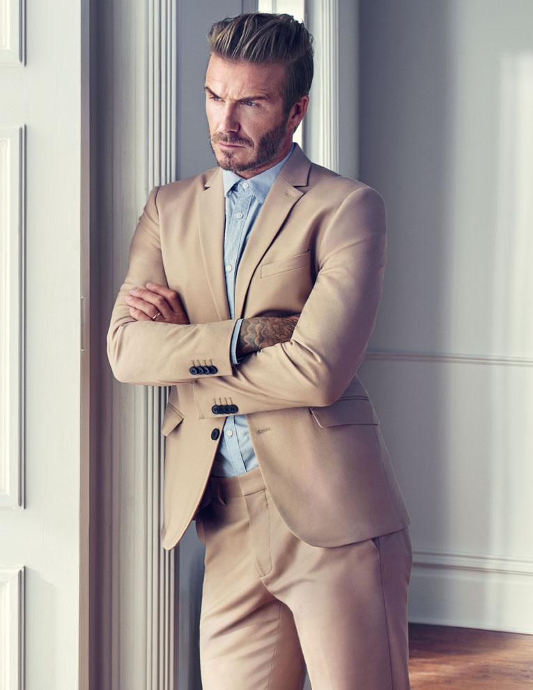 Tampil Trendi ala David Beckham