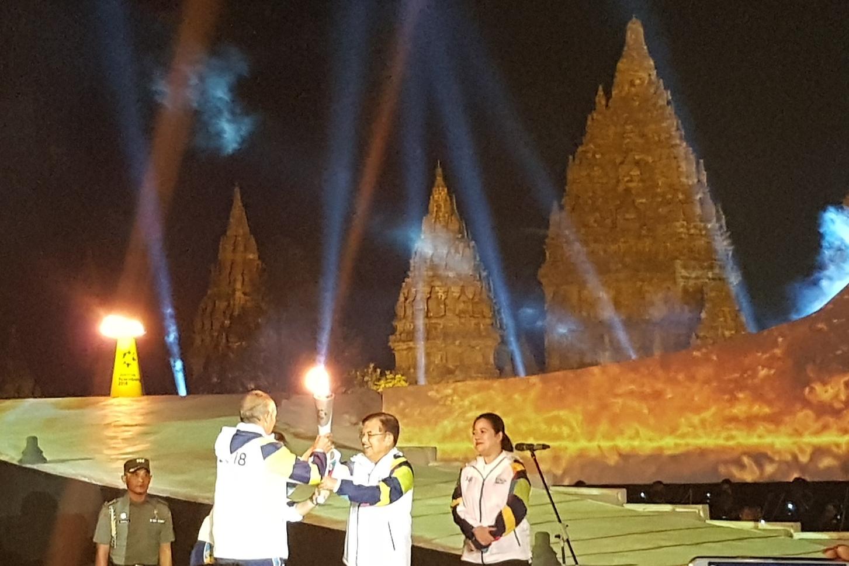 Menyambut Pawai Obor Asian Games 2018