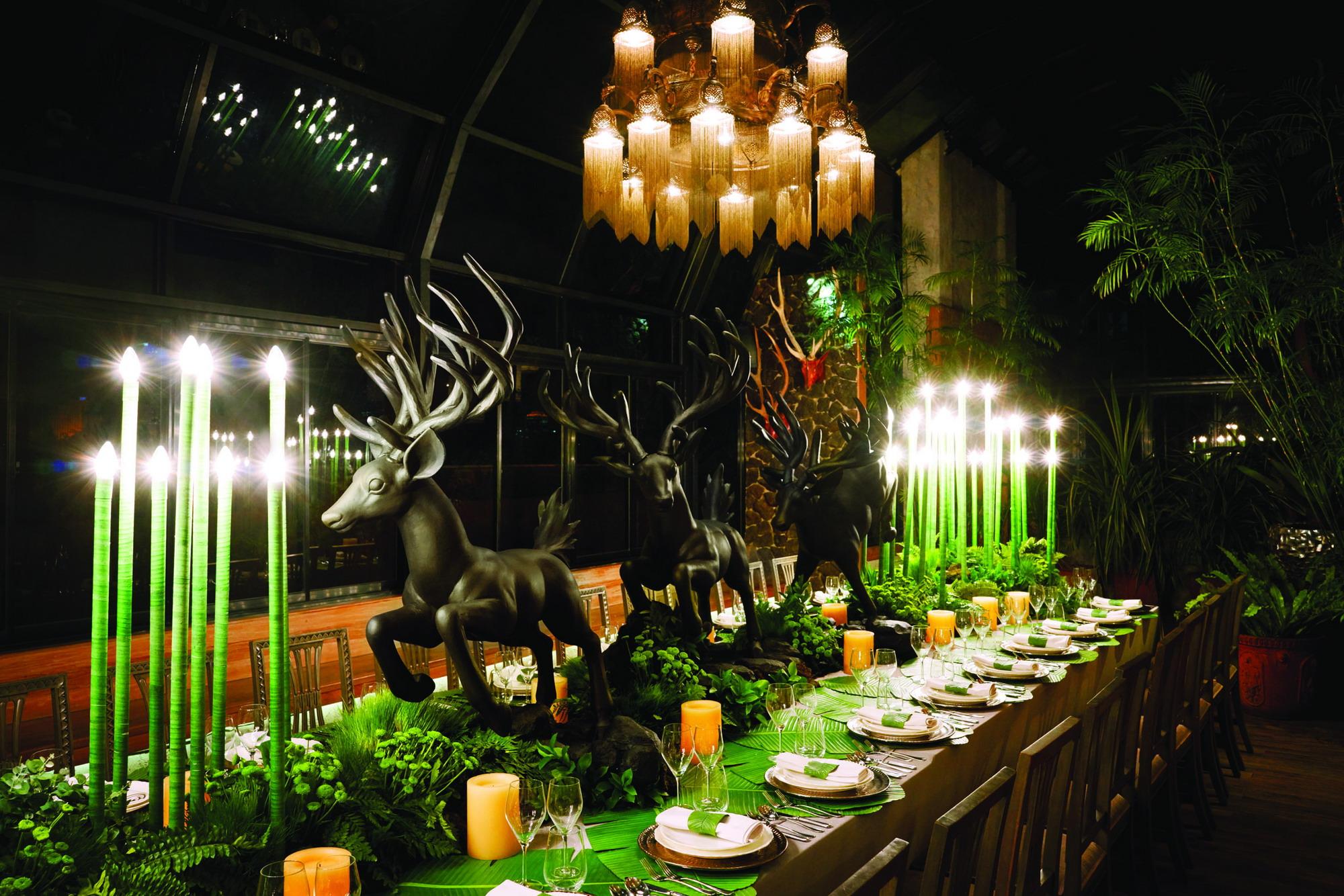 Ciri Khas Desainer Interior Agam Riadi yang Terinspirasi dari Batik