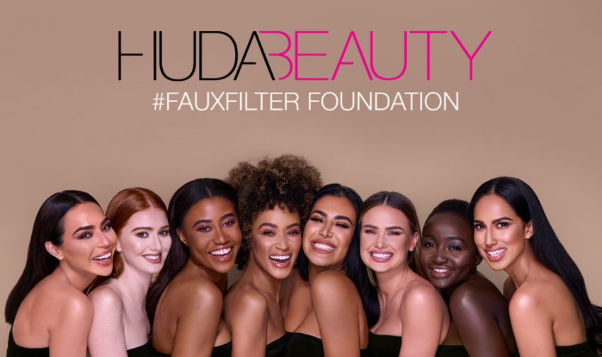 Koleksi 30 Warna Foundation Huda Beauty