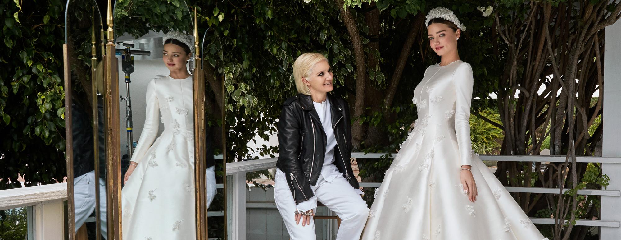 Intip Gaun Pernikahan Dior Pilihan Miranda Kerr
