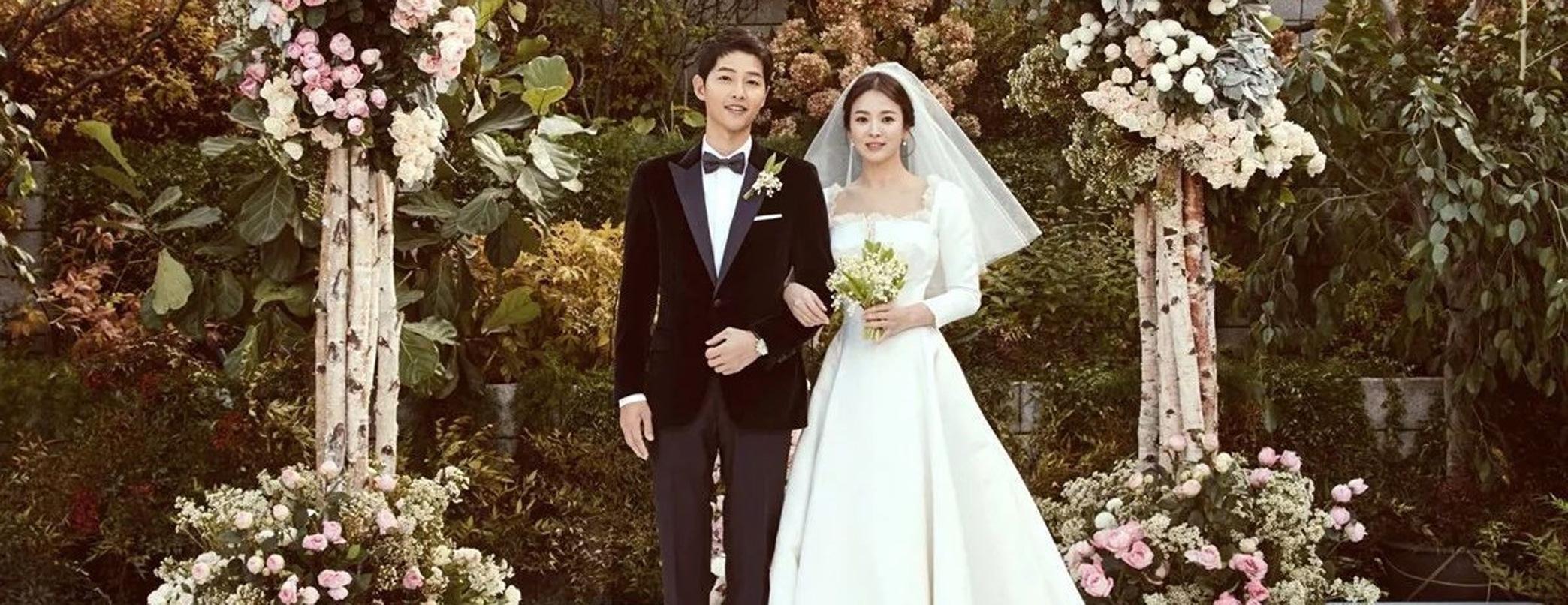Simak Gaun Pengantin Pilihan Aktris Song Hye Kyo dari Dior