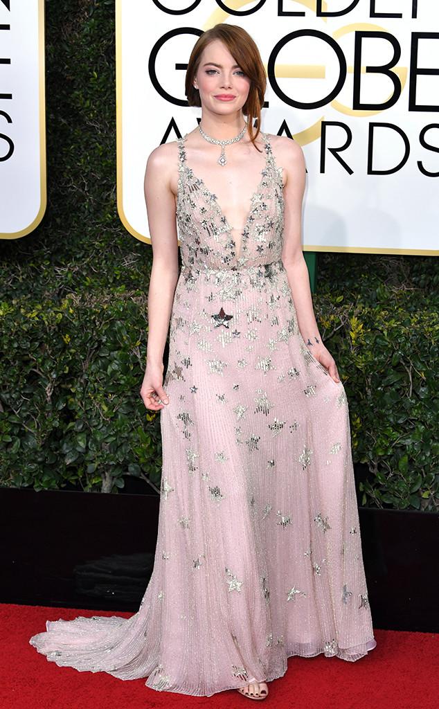 Gaya Para Bintang Dalam Ajang Karpet Merah Golden Globe Awards 2017