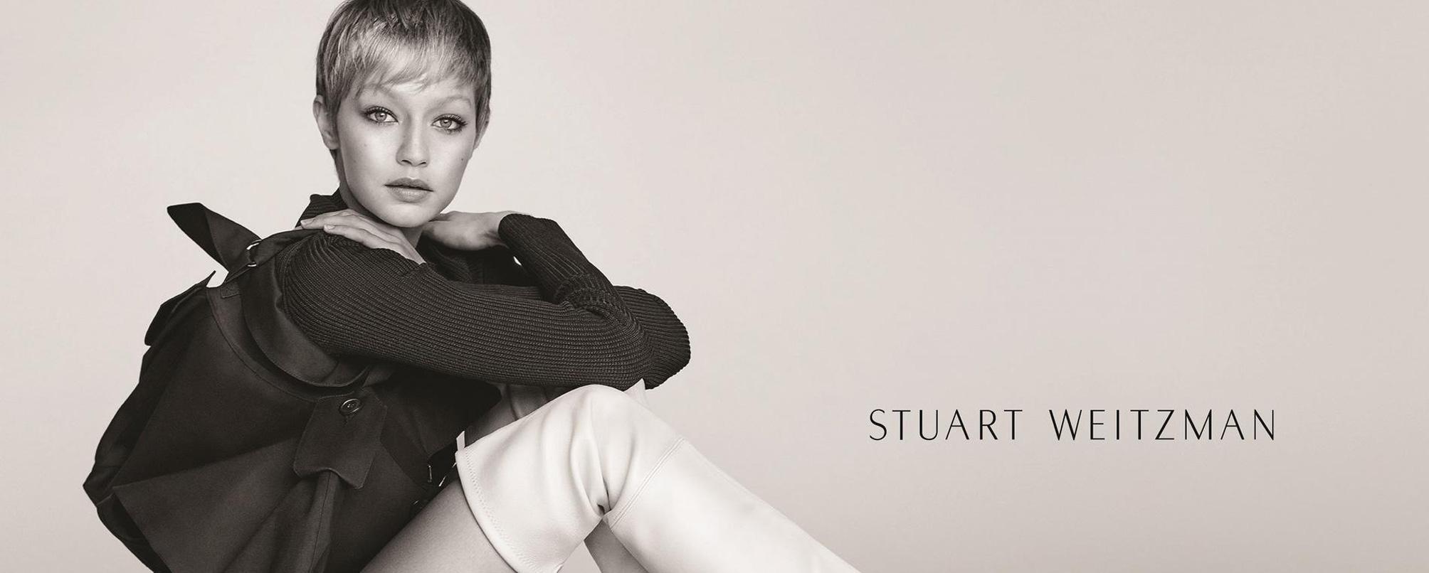 Debut Rambut Pixie Gigi Hadid dalam Kampanye Stuart Weitzman
