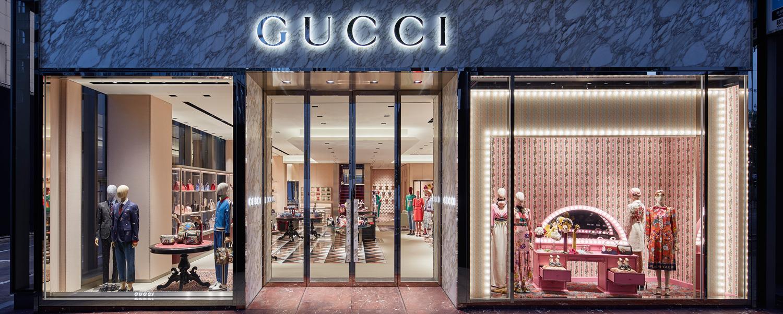 Gucci Membuka Kembali Pintu Butiknya di Ginza